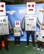 The Robot Family Homemade Costume