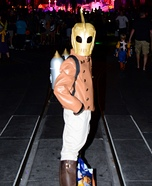 The Rocketeer Homemade Costume