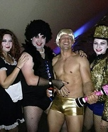 The Rocky Horror Picture Show Group Costume