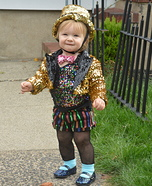 The Rocky Horror Picture Show Columbia Baby Costume