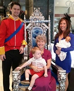 The Royal Family Homemade Costume