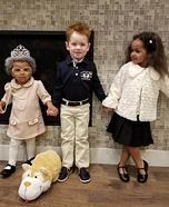 The Royal Family Homemade Costume