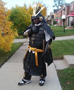 The Samurai Homemade Costume