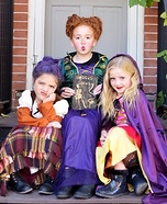 The Sanderson Sisters Homemade Costume