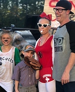 The Sandlot Family Homemade Costume