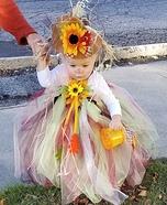 The Scarecrow Princess Homemade Costume