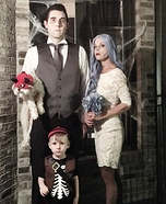 The Scary Family Homemade Costume