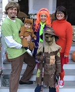 The Scooby Doo Gang captures the Villain Homemade Costume