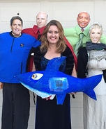 The Shark Tank TV Show Homemade Costume
