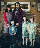 The Shining Family Homemade Costume