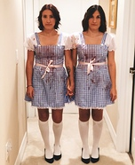The Shining Twins Homemade Costume
