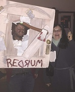 The Shining's Jack and Wendy Homemade Costume
