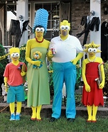 The Simpsons Homemade Costume