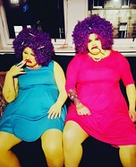 The Simpsons Patty and Selma Homemade Costume
