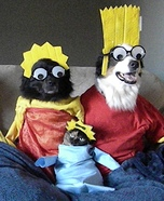 The Simpsons Pets Homemade Costume