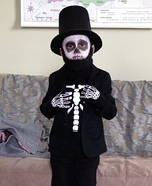 The Skeleton of Abraham Lincoln Costume