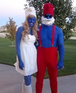 The Smurfs Couple Homemade Costume