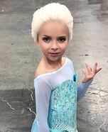 The Snow Queen Homemade Costume
