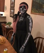 The soul eating Skeleton Homemade Costume