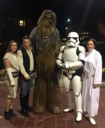 The Star Wars Gang Homemade Costume