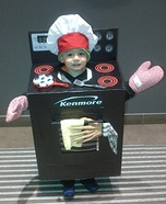The Stove Homemade Costume