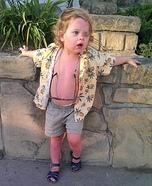 The Sunburnt Tourist Homemade Costume