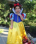 The Sweetest Snow White Homemade Costume