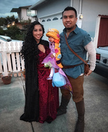The Tangled Family Homemade Costume
