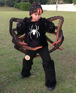 The Tarantula Homemade Costume