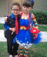 The Tenth Doctor And Rainbow Brite Costume