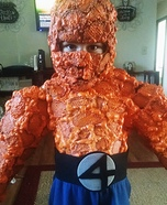 Fantastic Four The Thing DIY Costume