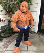 The Thing from Fantastic Four Homemade Costume