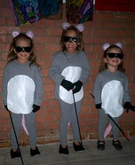 The Three Blind Mice Group Costume Idea