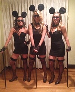 The Three Blind Mice Homemade Costume