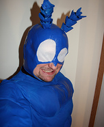 Homemade Tick Costume