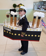 The Titanic Homemade Costume