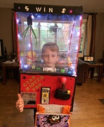The Ultimate Claw Machine Homemade Costume