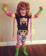 The Ultimate Warrior Homemade Costume