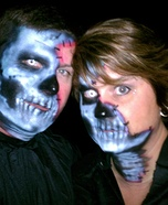 The Undead Couple Costume