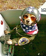 United States Fighter Pilot homemade costume