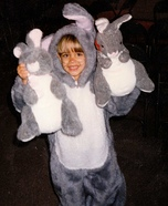 The Velveteen Rabbit Homemade Costume