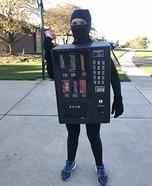 The Vending Machine Homemade Costume