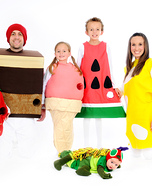 The Very Hungry Caterpillar Homemade Family Costume