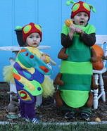 The Very Hungry Caterpillar and Beautiful Butterfly Halloween Costumes