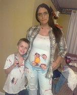 The Walking Dead Family Costume