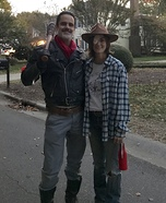 The Walking Dead - Negan and Carl Homemade Costume