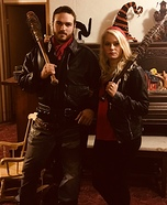 The Walking Dead Negan and his Wife Homemade Costume