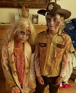 The Walking Dead Zombies Kids Homemade Costume
