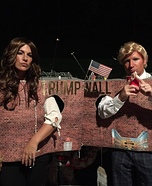 The Wall by Donald and Melania Homemade Costume