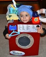 The Washing Machine Homemade Costume